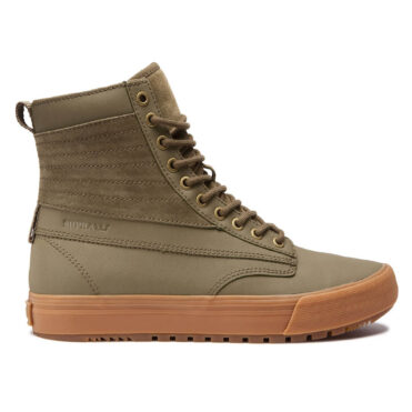 Supra Graham CW Shoe Olive Light Gum
