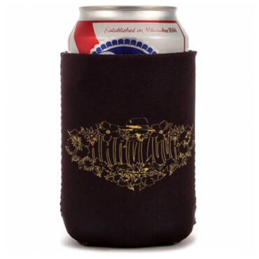 Hard Luck Vacay Coozie Black