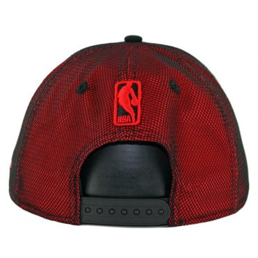 New Era 9Fifty Chicago Bulls Mesh Refresh Snapback Hat Red