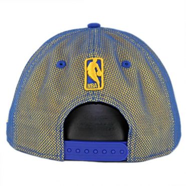 New Era 9Fifty Golden State Warriors Mesh Refresh Snapback Hat Royal Blue