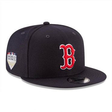 New Era 9Fifty Boston Red Sox Game World Series 2018 Snapback Hat Dark Navy