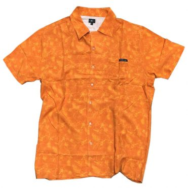 Hard Luck Vacay Button Up Shirt Orange