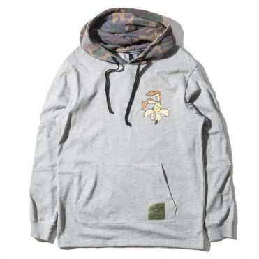 The Hundreds x Looney Tunes Failed Hooded Long Sleeve Shirt Athletic Heather