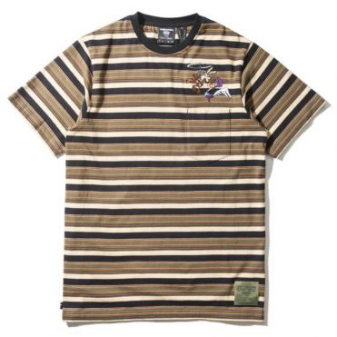 The Hundreds x Looney Tunes Medal Short Sleeve T-Shirt Olive