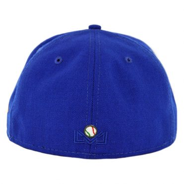 New Era 59Fifty Charros de Jalisco Fitted Hat Bright Royal Blue