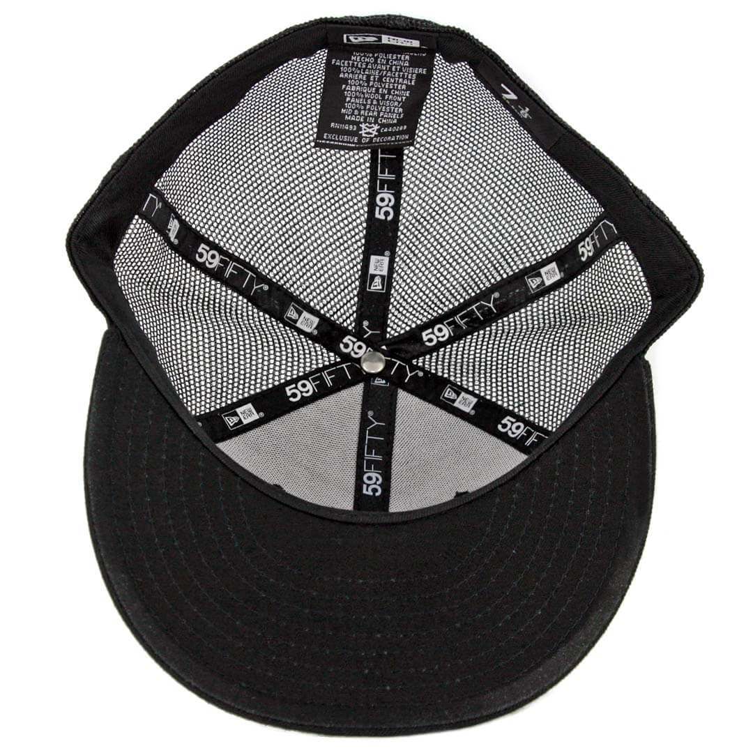 5381257c4224a New Era 59Fifty CTO Dyse One SD Trucker Fitted Hat Black White. 🔍.  32.00