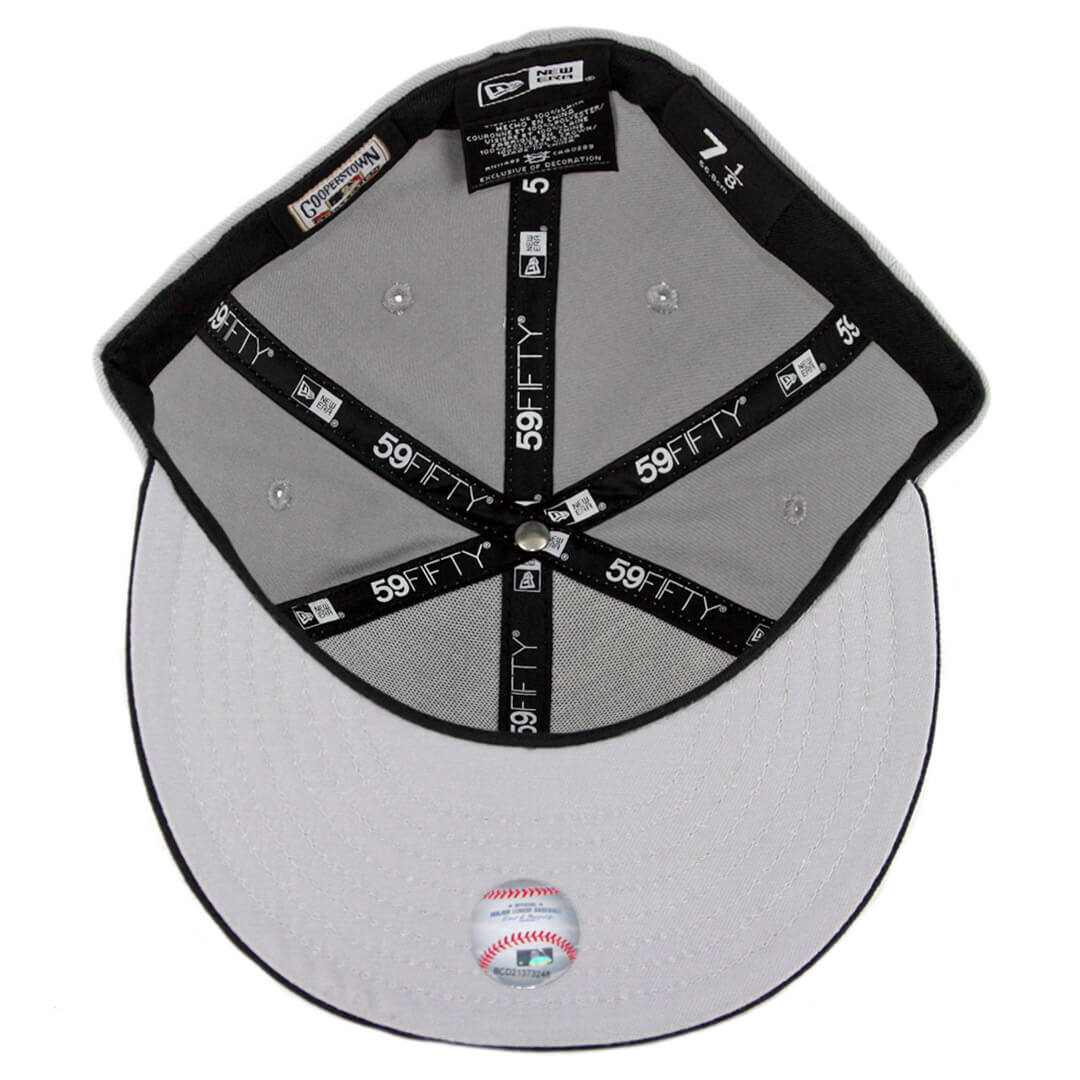 be20c4f2 New Era 59Fifty CTO San Diego Padres 1991 Wordmark Jersey Logo 2 Fitted Hat  Grey Dark Navy. 🔍. $32.00