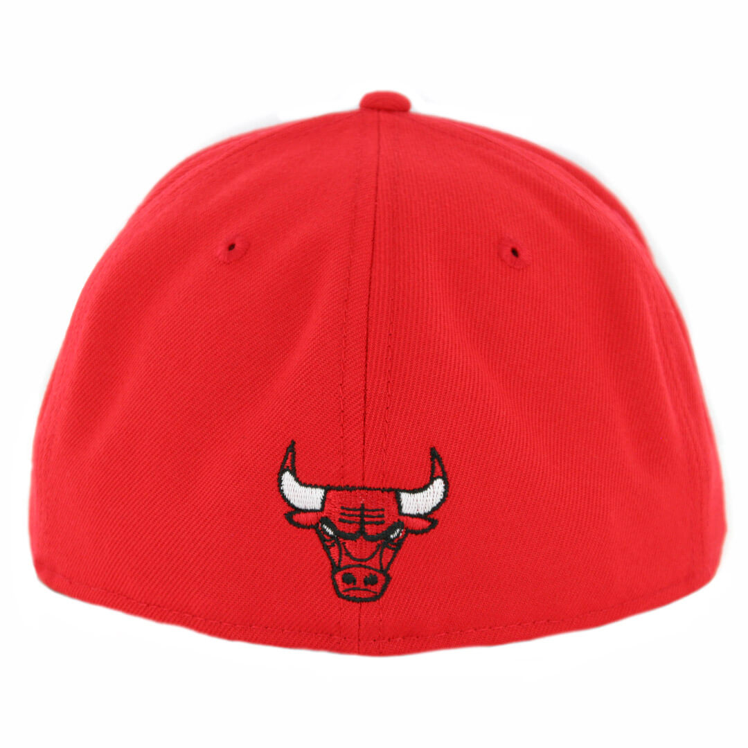 44f11e8ca1b New Era 59Fifty Chicago Bulls Gold Stated Fitted Hat Red - Billion ...