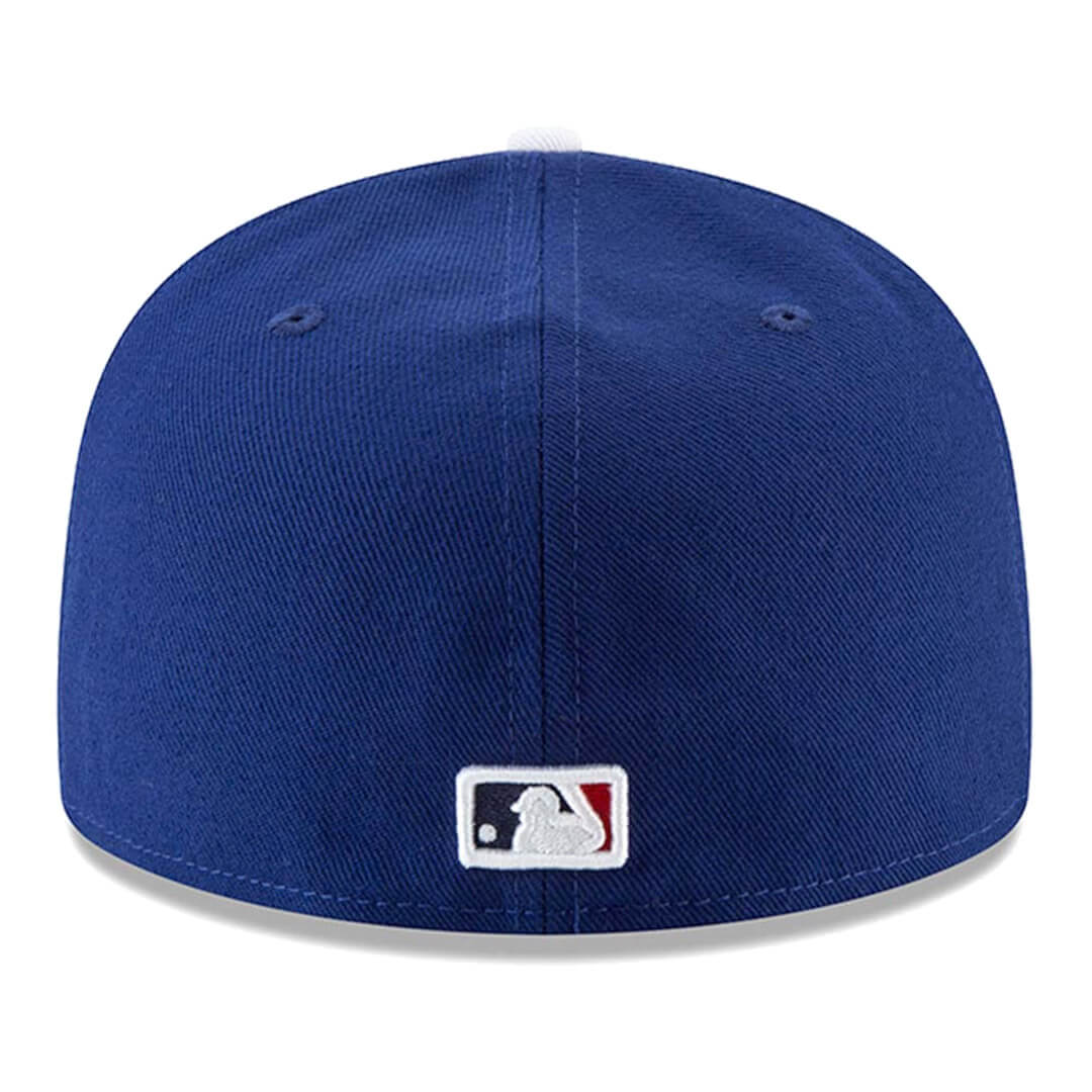 55008184efea99 New Era 59Fifty Los Angeles Dodgers Game World Series 2018 Fitted Hat Dark  Royal. 🔍. This ...