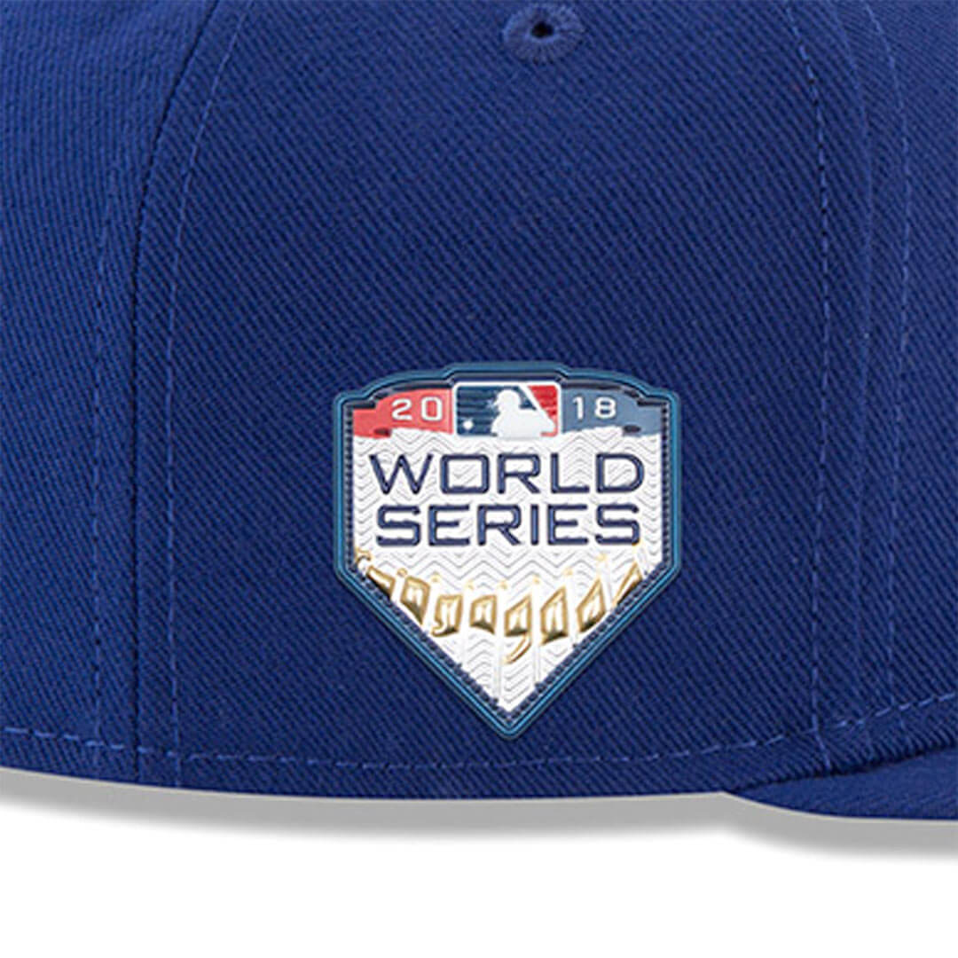 New Era 59Fifty Los Angeles Dodgers Game World Series 2018 Fitted Hat Dark  Royal 240729b8a6c