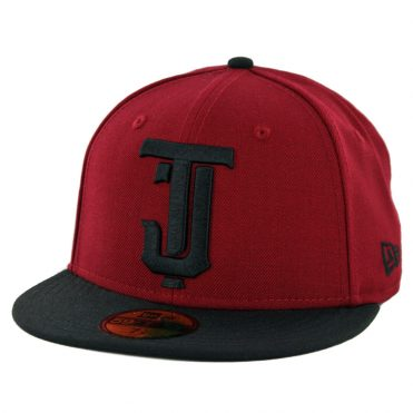 New Era 59Fifty Tijuana Toros Fitted Hat Cardinal Black Black