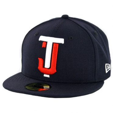 New Era 59Fifty Tijuana Toros Fitted Hat Dark Navy White Orange