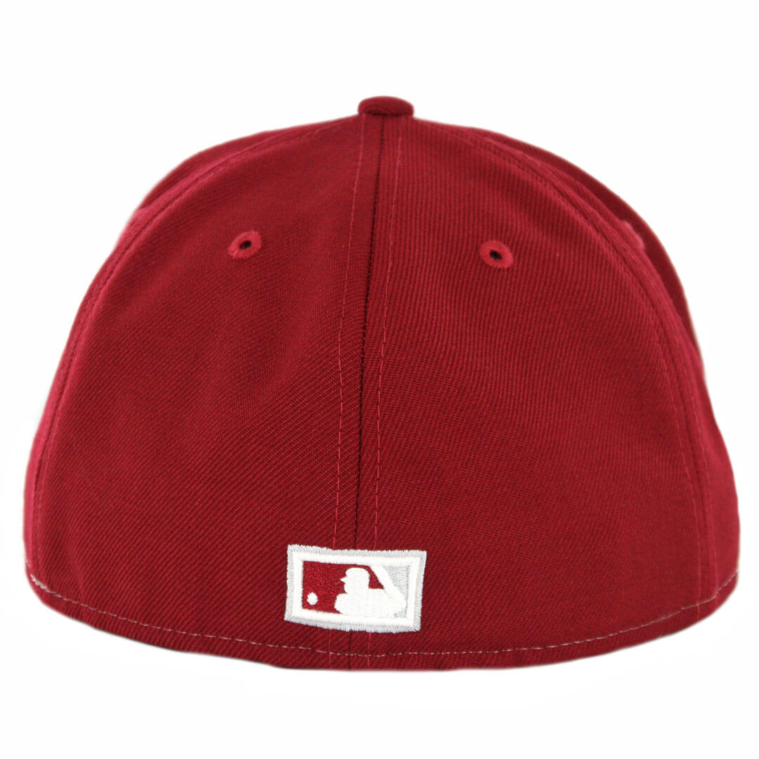 d1770a5b ... spain new era 59fifty philadelphia phillies 1970 vintage stripe  cooperstown fitted hat maroon 78b35 2a933