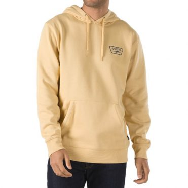 Vans Full Patched Pullover Hooded Sweatshirt New Wheat