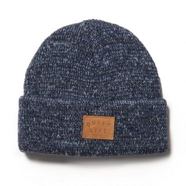The Quiet Life Original Marled Beanie Blue