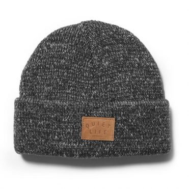 The Quiet Life Original Marled Beanie Black