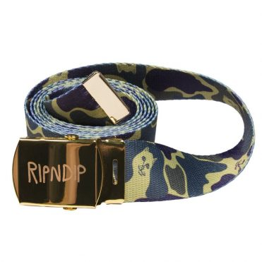 Rip N Dip Nerm Camo Web Belt Tropical Camo