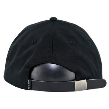 The Quiet Life Rose Polo Strapback Hat Black