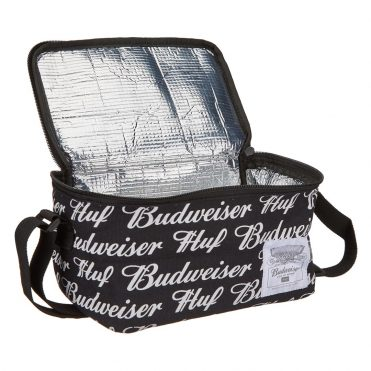 HUF Budweiser 6 Pack Cooler Black