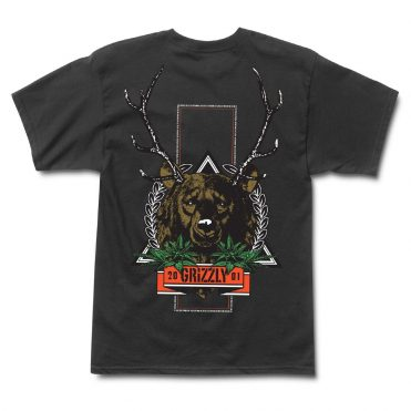 Grizzly Fear The Deer T-Shirt Black