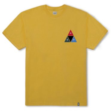 HUF Prism Triangle Short Sleeve T-Shirt Mineral Yellow