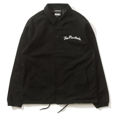 The Hundreds Walk Out Trainer Jacket Black