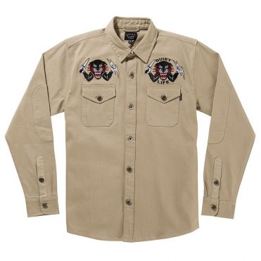 The Quiet Life Ben Venom Workshirt Tan