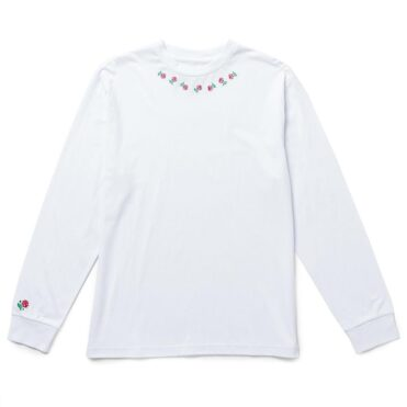 The Quiet Life Rosary Long Sleeve T-Shirt White