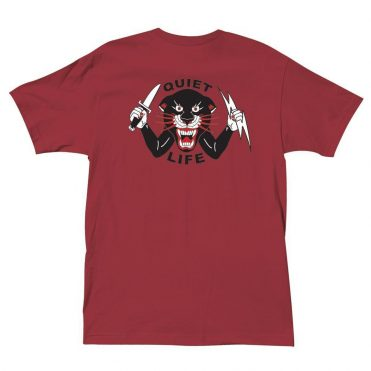 The Quiet Life Venom Panther T-Shirt Cardinal