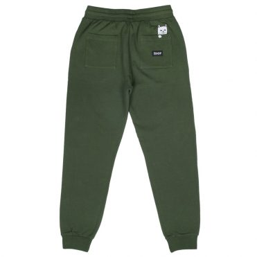 Rip N Dip Peeking Nermal Sweatpants Olive