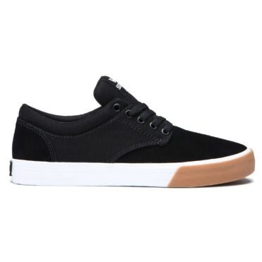 Supra Chino Shoe Black White Gum