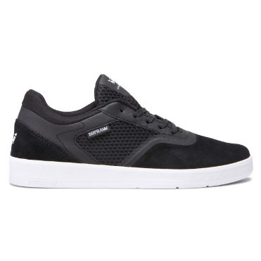 Supra Saint Shoe Black White