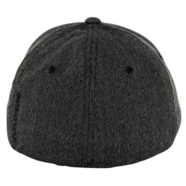 Volcom Full Stone Heather Flexfit Hat Charcoal Heather
