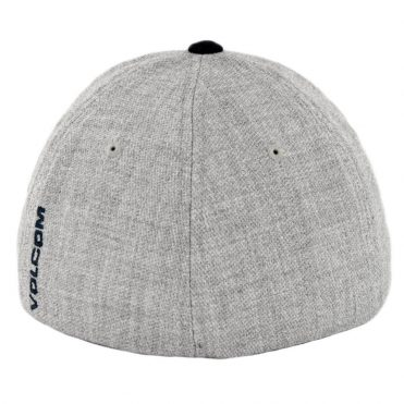 Volcom Full Stone Heather Flexfit Hat Navy Heather