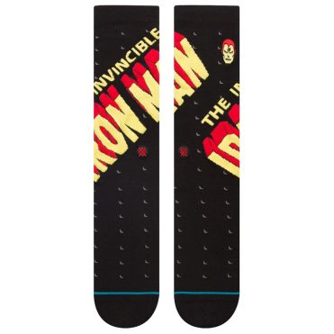 Stance Invincible Iron Man Sock Black