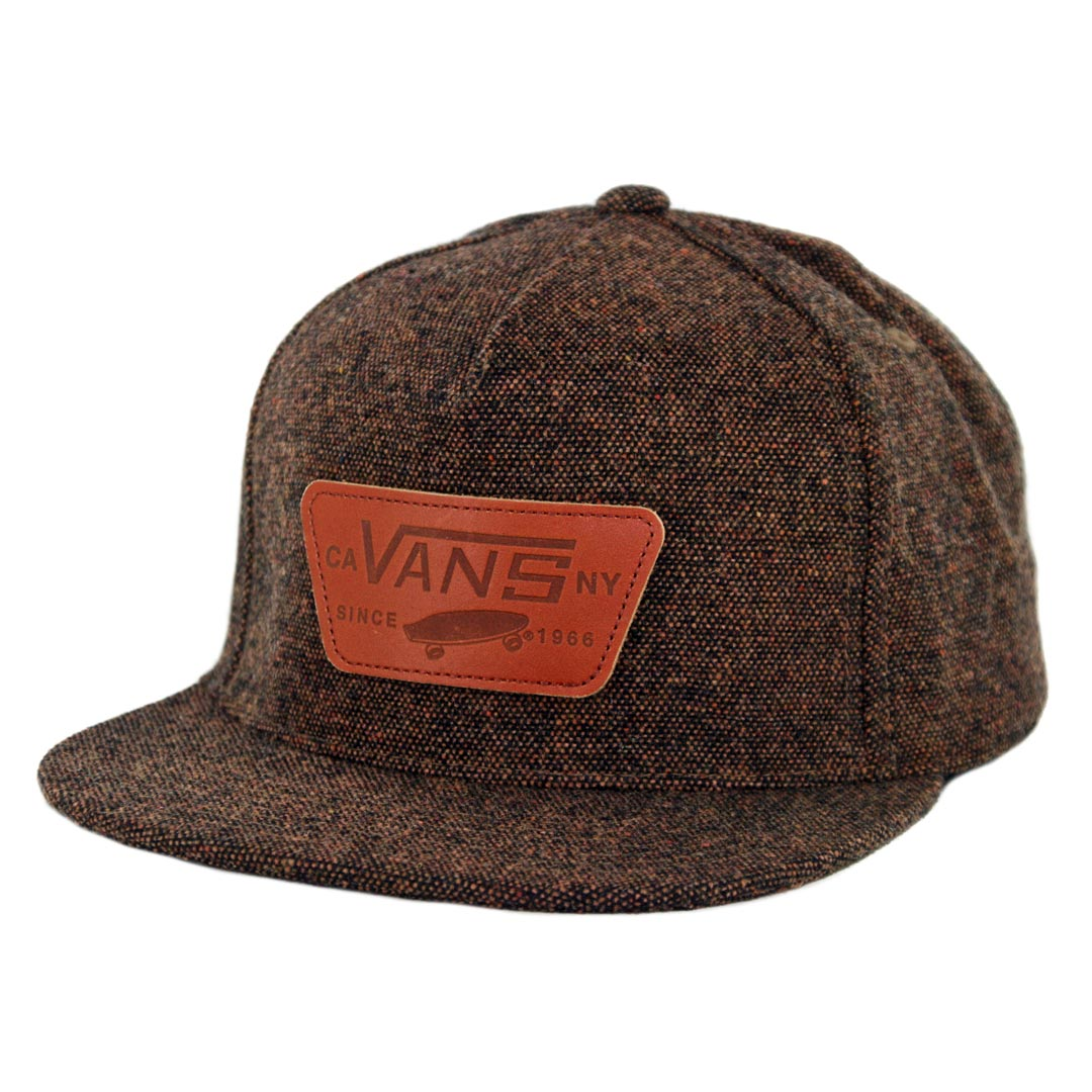 Vans Full Patch Snapback Hat Demitasse - Billion Creation Streetwear d9cffd1ead0