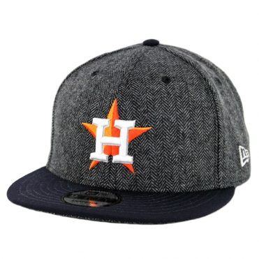 New Era 9Fifty Houston Astros Pattern Pop Snapback Hat Heather Graphite Dark Navy