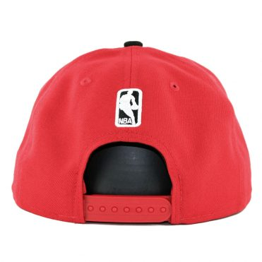 New Era 9Fifty Portland Trail Blazers Callout Trim Snapback Hat Red