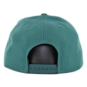 New Era 9Fifty Philadelphia Eagles Callout Trim Snapback Hat Midnight Green