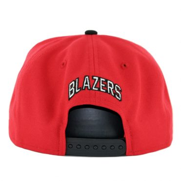 New Era 9Fifty Portland Trailblazers Nights 7 Snapback Hat Red Black