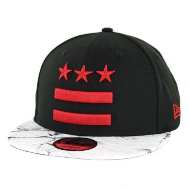 New Era 9Fifty Washington Wizards Alternate City Series 2018 Snapback Hat Black
