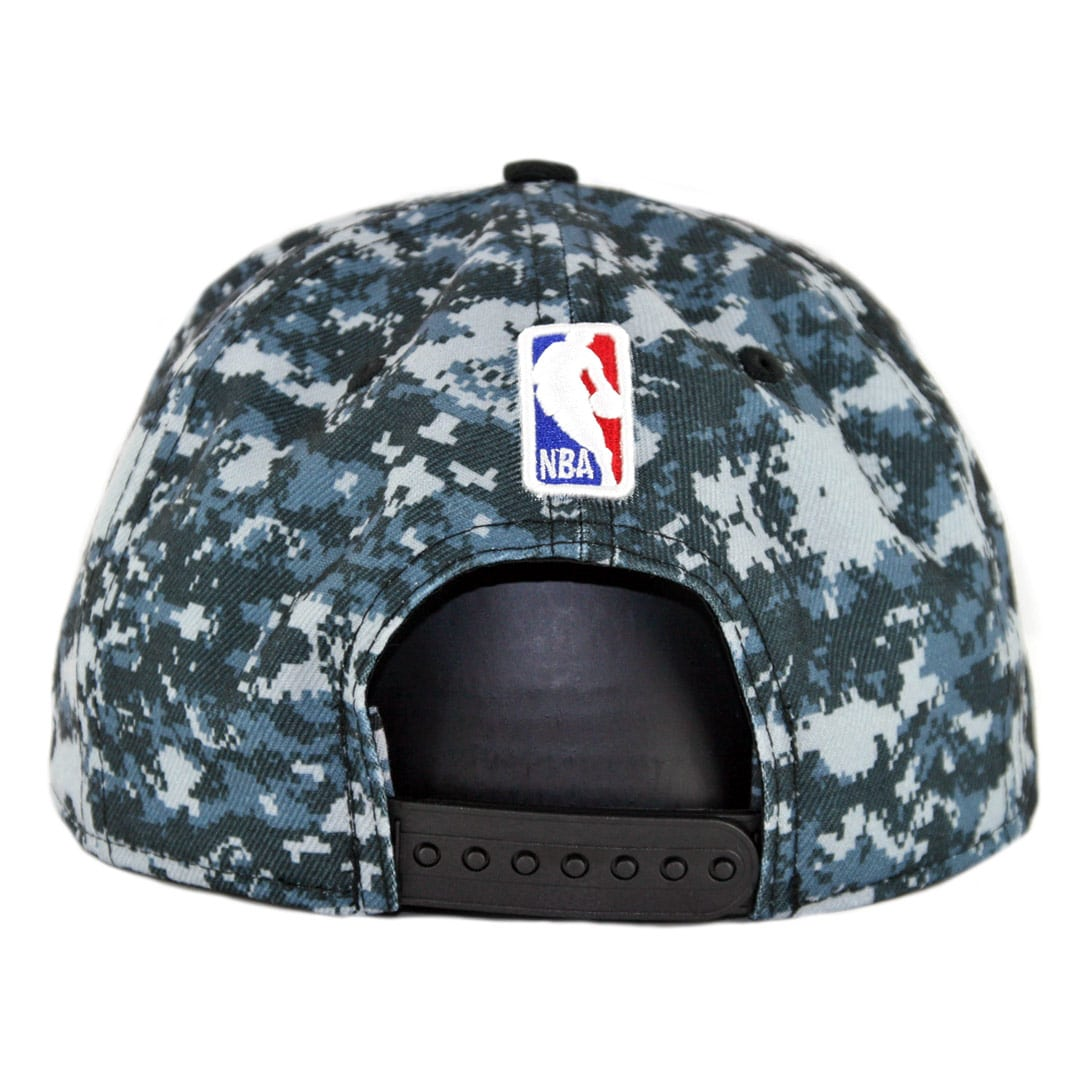 buy online 029cb ba9c6 New Era 9Fifty San Antonio Spurs City Series 2018 Snapback Hat Digi Camo  Blue. 🔍.  34.00