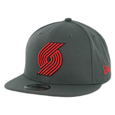 New Era 9Fifty Portland Trail Blazers Alternate City Series 2018 Snapback Hat Graphite