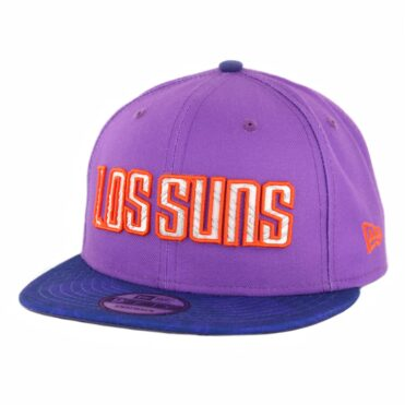 New Era 9Fifty Phoenix Suns City Series 2018 Snapback Hat Purple