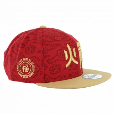 New Era 9Fifty Houston Rockets City Series 2018 Snapback Hat Cardinal Camel