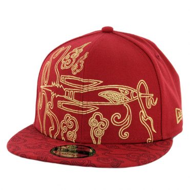 New Era 9Fifty Houston Rockets Alternate City Series 2018 Snapback Hat Cardinal