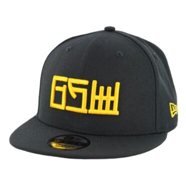 New Era 9Fifty Golden State Warriors Alternate City Series 2018 Snapback Hat Black