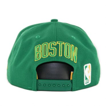 New Era 9Fifty Boston Celtics Alternate City Series 2018 Snapback Hat Kelly Green