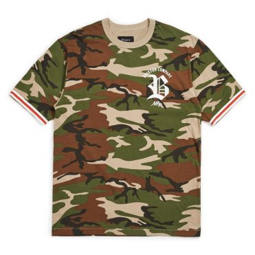 Brixton Rawson Short Sleeve Knit Shirt Camo