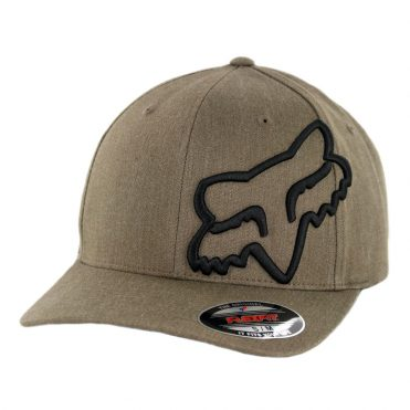 Fox Head Clouded Flexfit Hat Bark